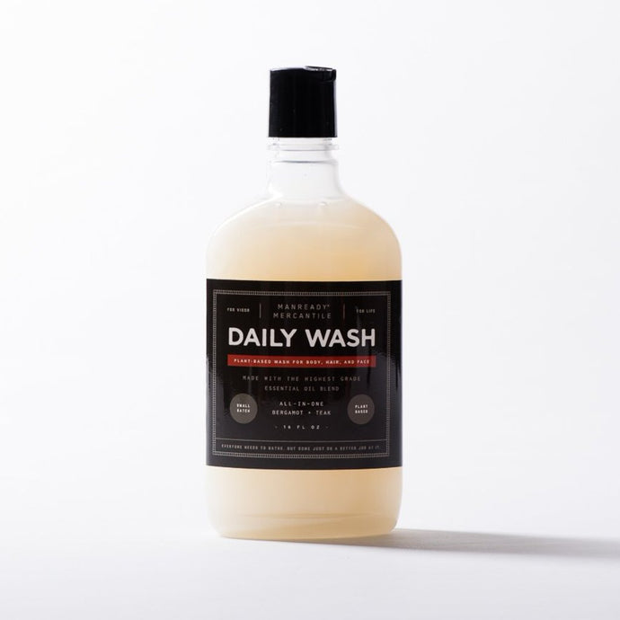 ALL-IN-1 DAILY BODYWASH - BERGAMOT + TEAK