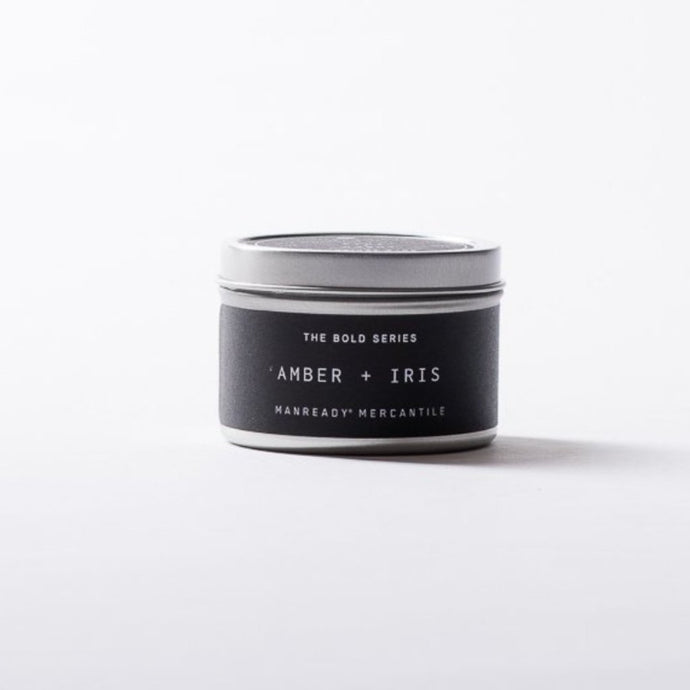 TRAVEL SIZE BOLD SERIES CANDLE - AMBER + IRIS