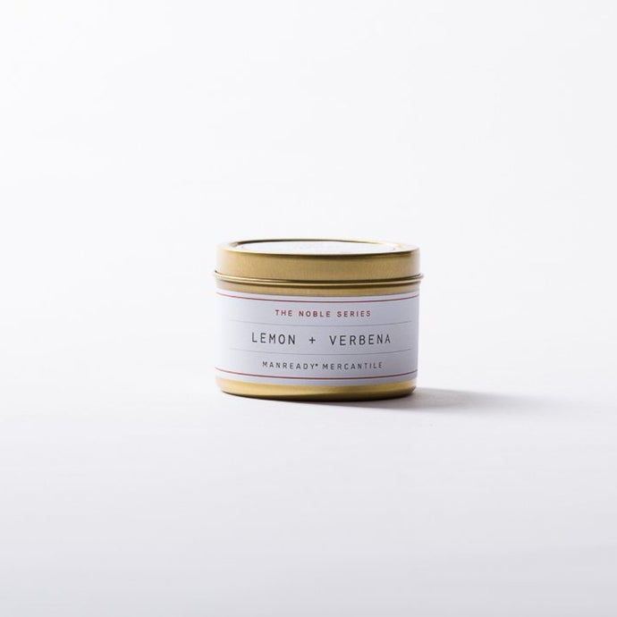 TRAVEL SIZE NOBLE SERIES CANDLE - LEMON + VERBENA