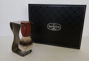 BE SHAVEN : SHAVING BRUSH GIFT SET