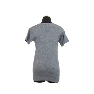 HOLLYWOOD CASHMERE TEE GRAY