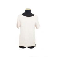 Load image into Gallery viewer, MANHATTAN CASHMERE TEE SAND