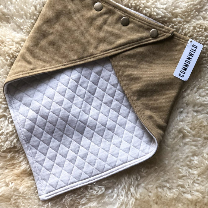 BANDANA Carhartt Brown w/ cream quilt
