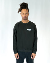 "Load image into Gallery viewer, Lone Wolfs ""In case of sadness"" Black Sweatshirt"