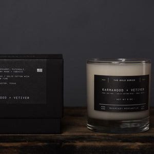 The Bold series soy candle