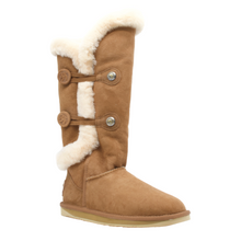 Load image into Gallery viewer, NORDIC SHEARLING TALL CHESTNUT