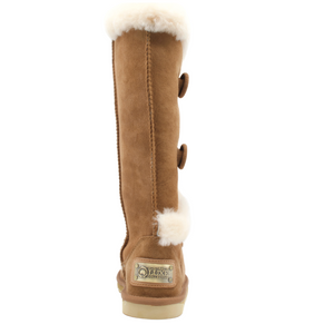 NORDIC SHEARLING TALL CHESTNUT