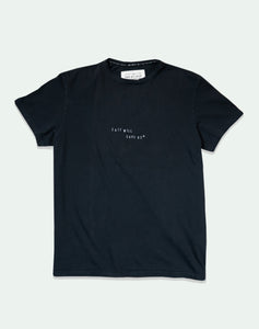 "Lone Wolfs ""Salt will save us"" Black T-shirt"