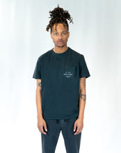 "Load image into Gallery viewer, Lone Wolfs ""Shop"" Pocket Black T-shirt"