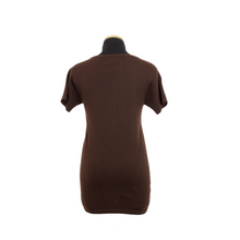 Load image into Gallery viewer, BRENTWOOD CASHMERE V NECK BEVA