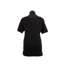 Load image into Gallery viewer, HOLLYWOOD CASHMERE TEE BLACK