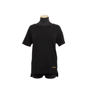 HOLLYWOOD CASHMERE TEE BLACK