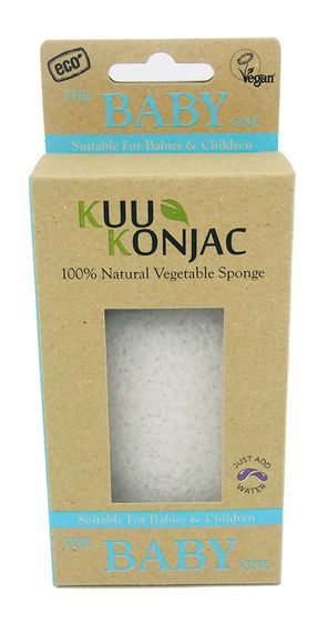 KUU Konjac Baby Sponge - Live Pure and Simple