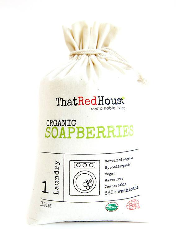 That Red House Organic Soapberries - Live Pure and Simple