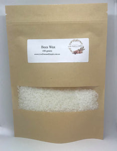 Beeswax 100g - Live Pure and Simple