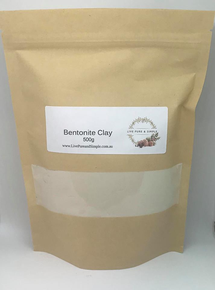 Bentonite Clay 500g - Live Pure and Simple