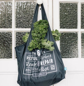 ONYA Reusable Shopping Tote Bag - Live Pure and Simple