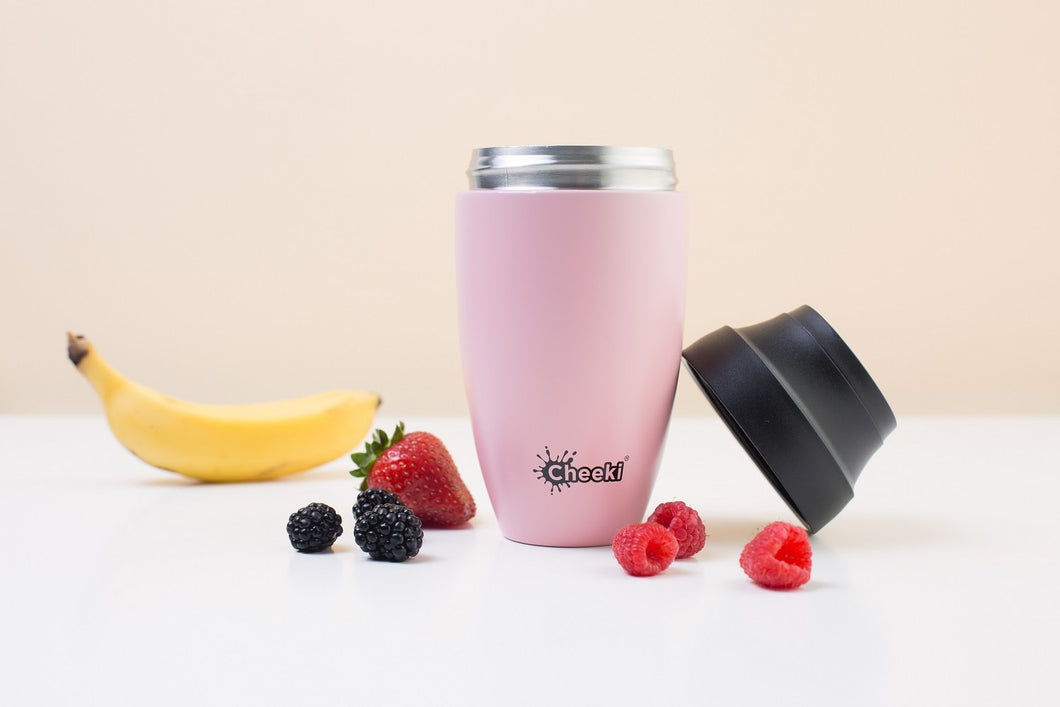 Cheeki  350ml Coffee Mug - Live Pure and Simple