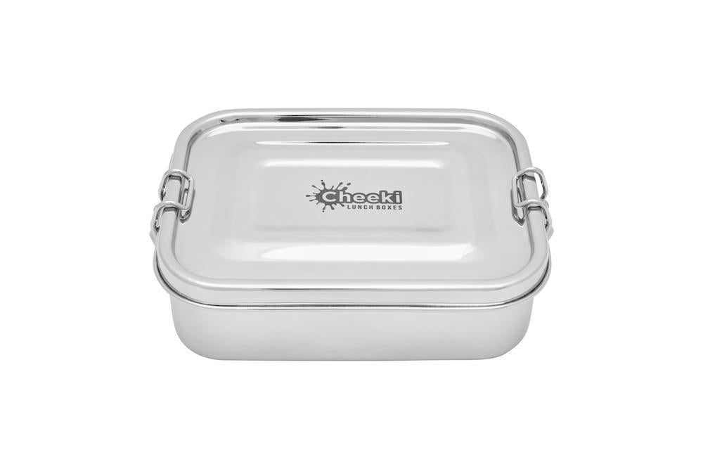 Cheeki Stainless Steel Lunch Box - 500ml - Live Pure and Simple