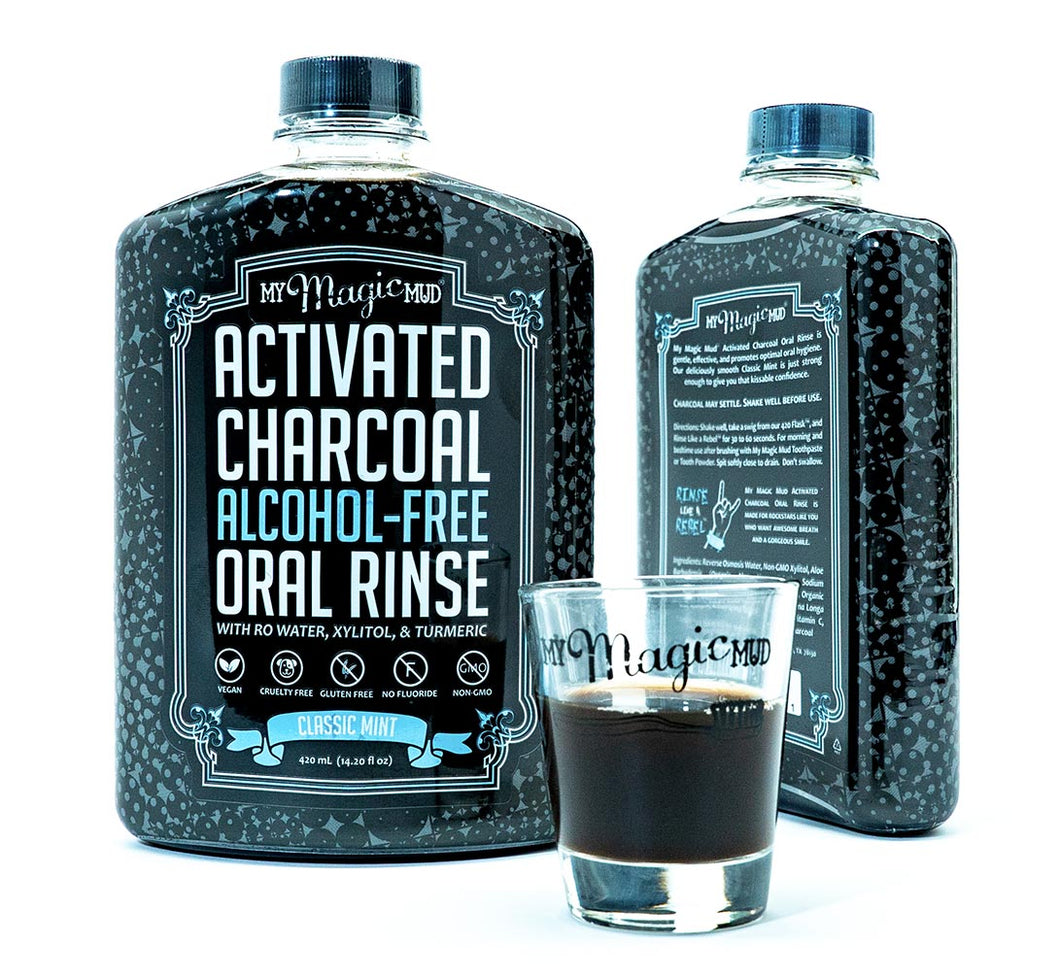 Activated Charcoal Oral Rinse - Live Pure and Simple