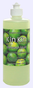 Kin Kin naturals - Dishwash Liquid Lime & Eucalypt essential oils - Live Pure and Simple