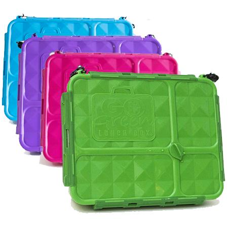 Go Green Medium Lunch Box