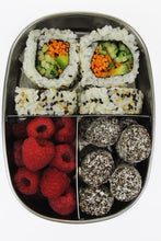 EverEco Stainless Steel Bento Snack Box 3 Compartments - Live Pure and Simple