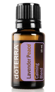 doTERRA Lavender Peace - Calming Blend - Live Pure and Simple