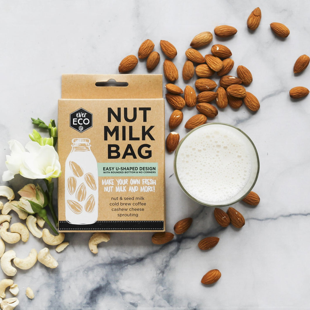 EverEco Nut Milk Bag - Live Pure and Simple