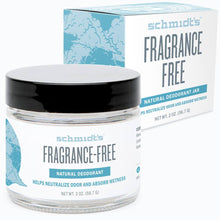 Schmidt's Fragrance Free Deodorant - Live Pure and Simple