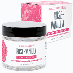 Schmidt's Rose + Vanilla Deodorant - Live Pure and Simple