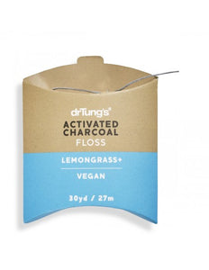 DrTung's Activated Charcoal Floss - Vegan - Live Pure and Simple