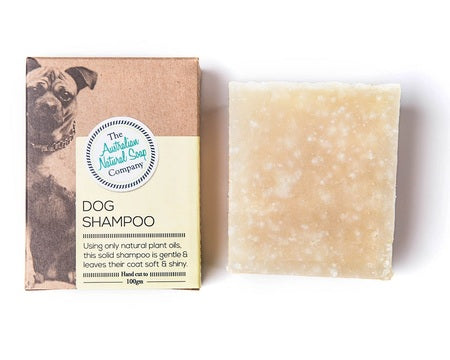 The Australian Natural Soap Company Dog Shampoo 100g - Live Pure and Simple