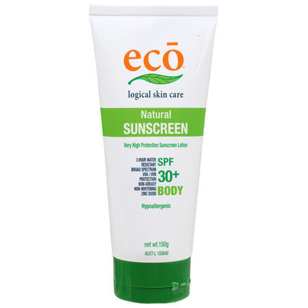 Eco Logical Natural Body Sunscreen SPF 30+ - Live Pure and Simple