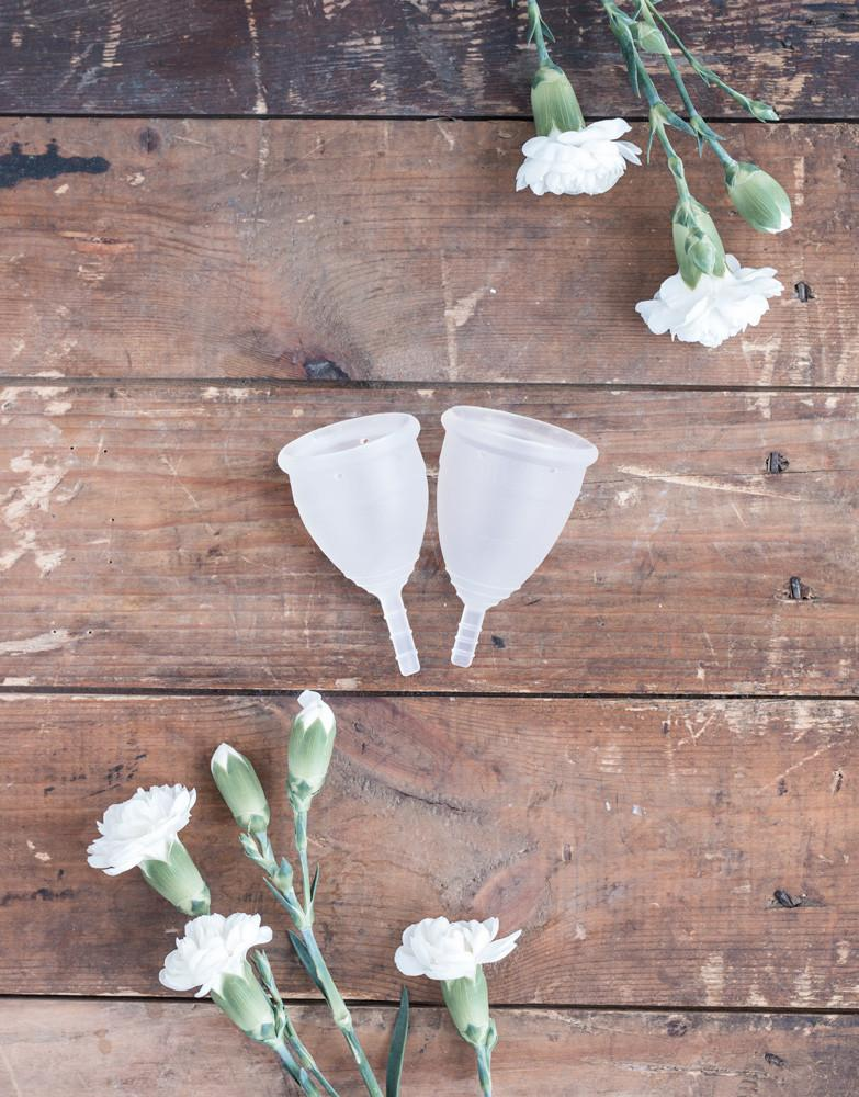 Lunette Menstrual Cup - Clear - Live Pure and Simple