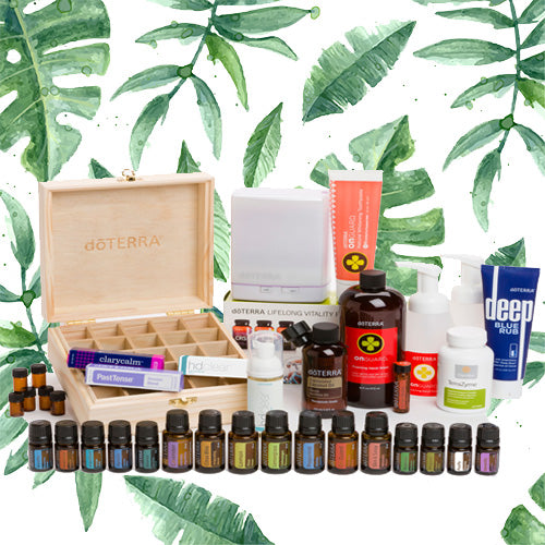 doTERRA Natural Solutions Kit - Live Pure and Simple