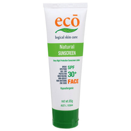 Eco Logical Face Sunscreen SPF 30+ - Live Pure and Simple