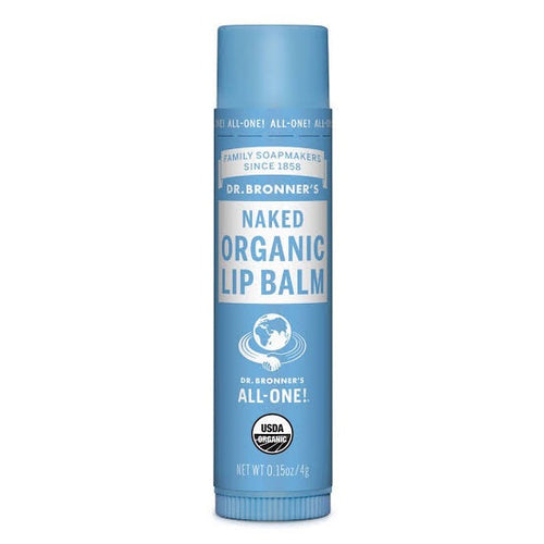 Dr Bronner's Naked Organic Lip Balm - Live Pure and Simple