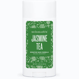 Schmidt's Sensitive Skin Deodorant Stick - Jasmine Lime - Live Pure and Simple