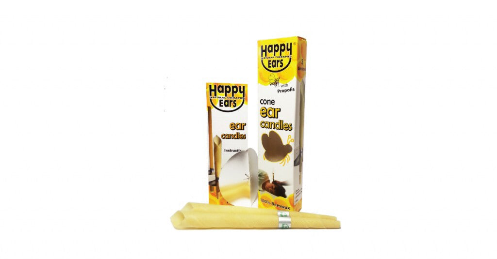 Happy Ears - Ear Candles – CONE – 1 Pair - Live Pure and Simple