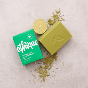 Ethique - Match, Lime & Lemongrass - Bodywash Bar - Live Pure and Simple