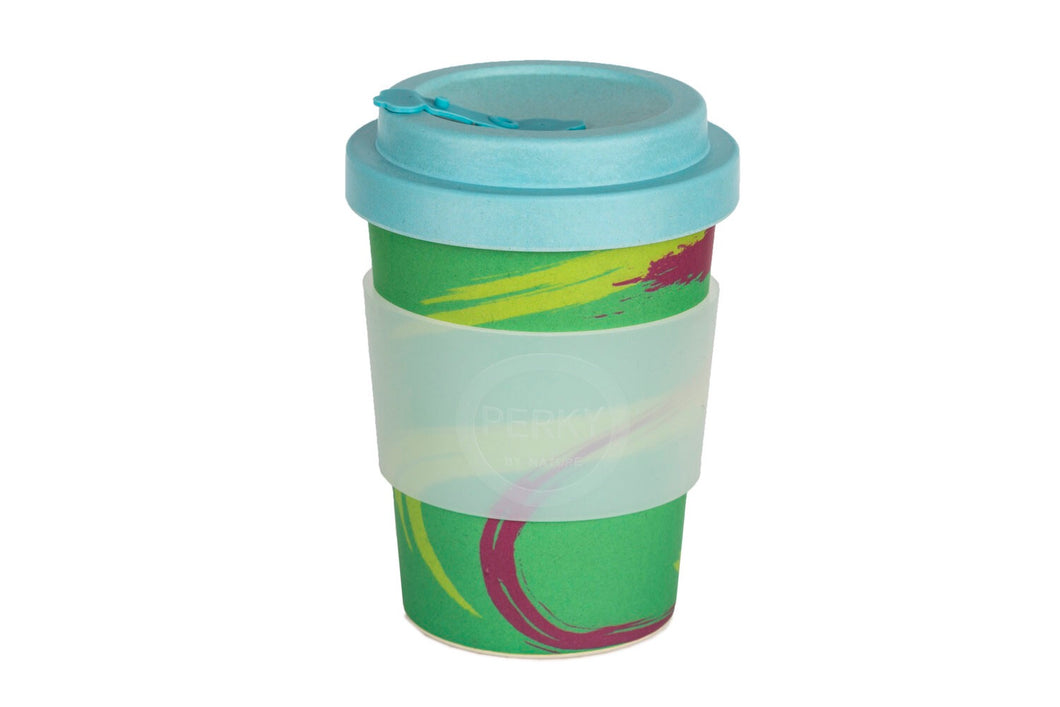 Perky By Nature Bamboo Fibre Reusable Cup - Perky Planet - Live Pure and Simple