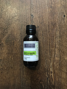 Leonardi Laboratories Witch Hazel Organic - Live Pure and Simple