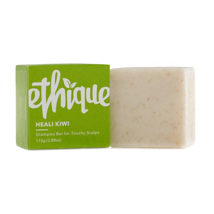 Ethique - Heali Kiwi - Shampoo Bar for Touchy Scalps - Live Pure and Simple