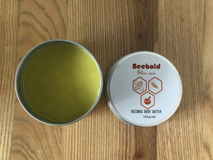 BeeHold Skin Care - Beeswax Body Butter - Live Pure and Simple