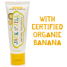 Jack N' Jill Natural Banana Toothpaste 50g - Live Pure and Simple