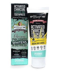 Activated Charcoal Toothpaste - Live Pure and Simple
