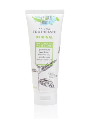 Natural Family Co Original Toothpaste 110g - Live Pure and Simple