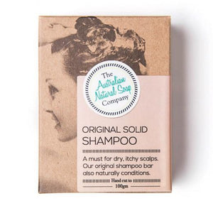 The Australian Natural Soap Company Solid Shampoo Original (100g) - Live Pure and Simple