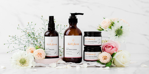 The Herb Farm's Skincare Range for Normal (and sensitive) Skin